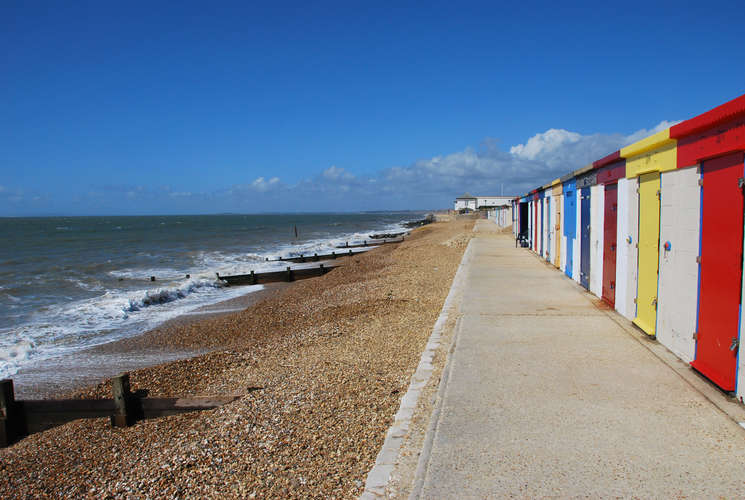 A view at Milford-on-Sea