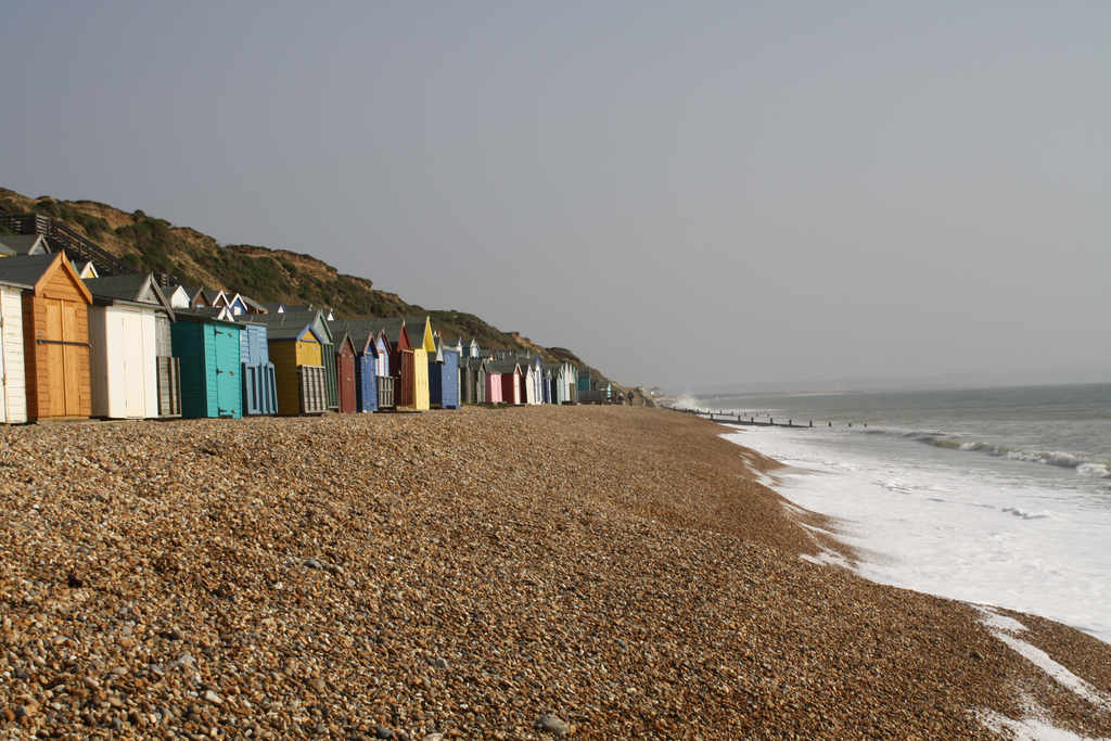 Hordle beach huts